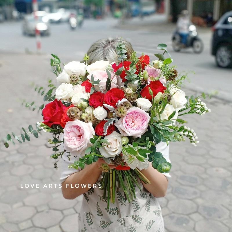 Top 5 mẫu hoa mang đậm không khí giáng sinh tại Love Arts Flowers