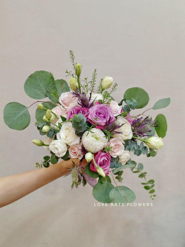 Bật mí cách lựa chọn hoa cưới tuyệt đẹp cho cô dâu