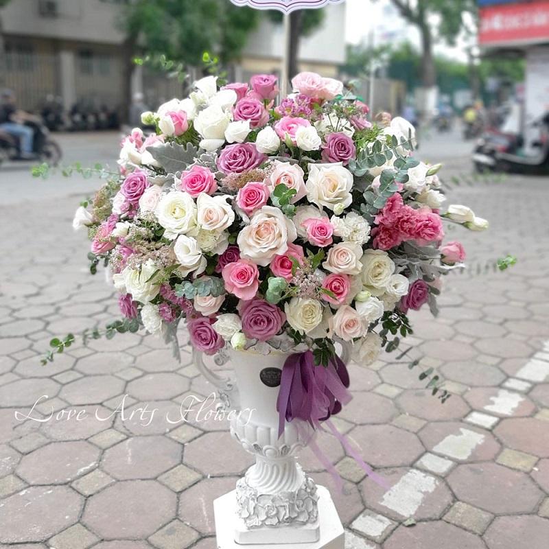 Điểm danh những mẫu hoa sang trọng tặng đối tác, doanh nghiệp