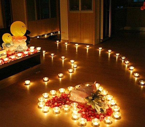 Nến và hoa - Mang đến Valentine ngọt ngào cho bạn và người ấy