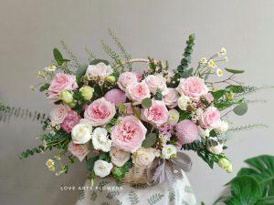 Tiệm hoa tươi Hà Nội