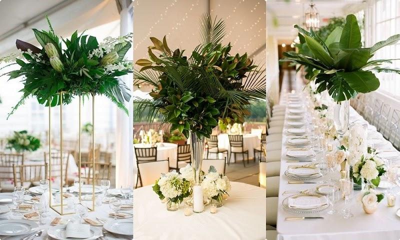 Xu hướng decor không gian tiệc cưới bằng hoa tươi ấn tượng