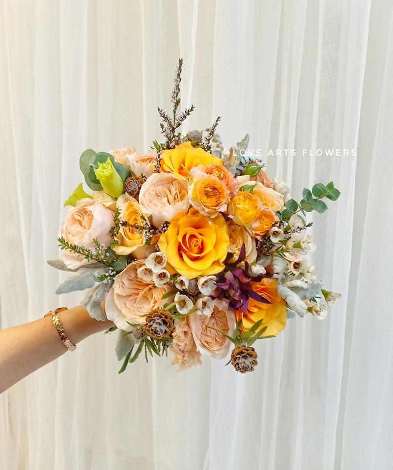 Xu hướng hoa cưới nào lên ngôi trong năm 2021