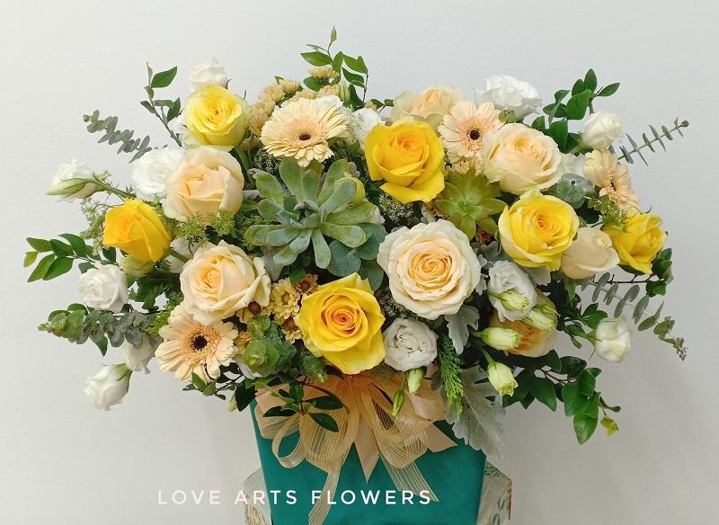 Hoa tặng khai trương cửa hàng