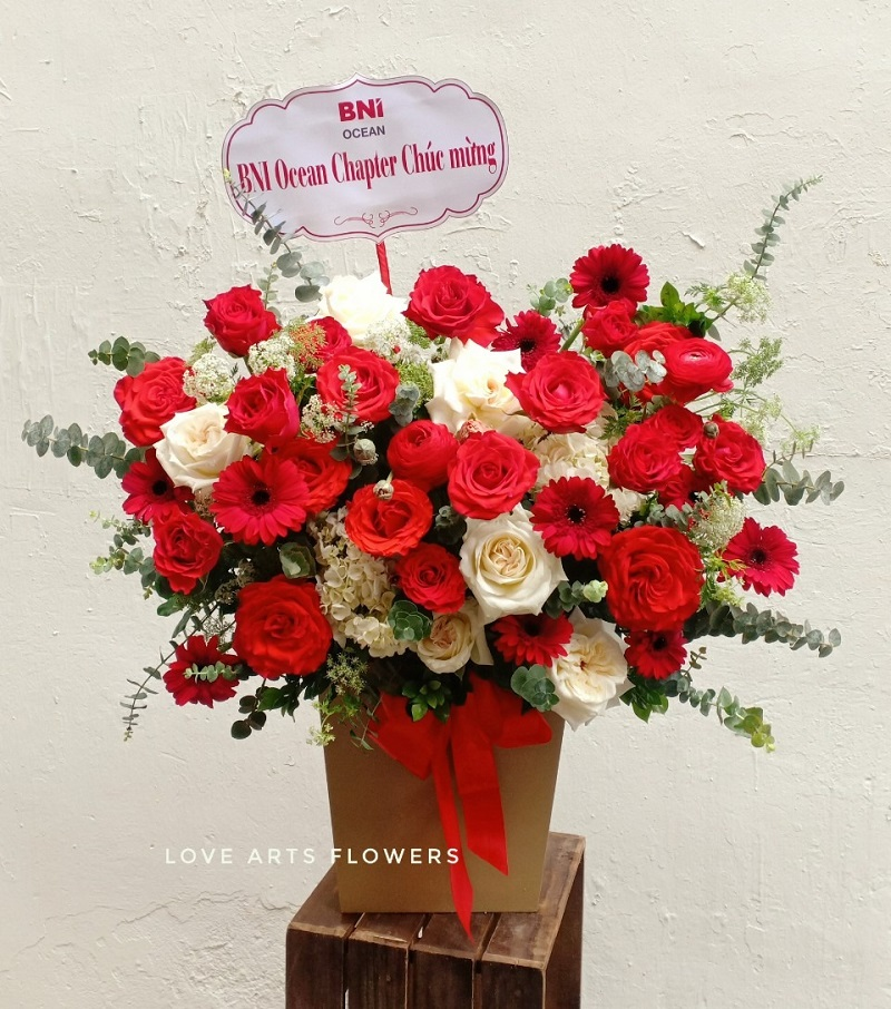 Love Arts Flowers - Đồng hành cùng quý đối tác, doanh nghiệp